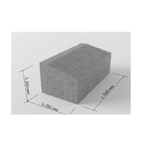 Блок бетонный Б2-22-25